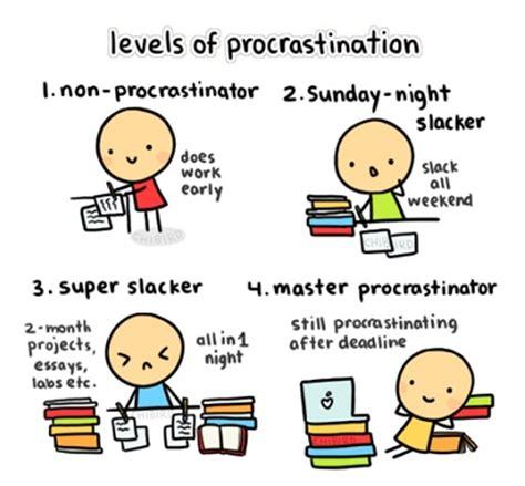 Procrastination essay thesis